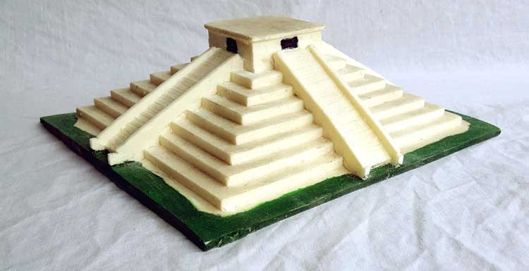 Starbeck Educational Resources And Topic Boxes For Schools Mayan Artefacts The Classroom MX 163 Model Of A Ziggurat 38